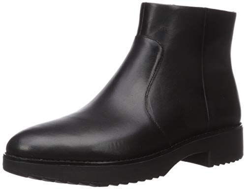 Fitflop Maria Welted Ankle Bootie-Leather, Botines para Mujer