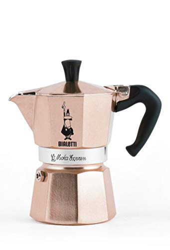 Why Choose Bialetti Moka Express Coffee Maker (Rose Gold, 3-Cup)