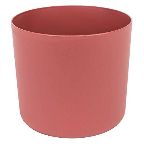 Form Plastic Aruba Pot de fleurs rond en plastique mat Diamètre 25 cm