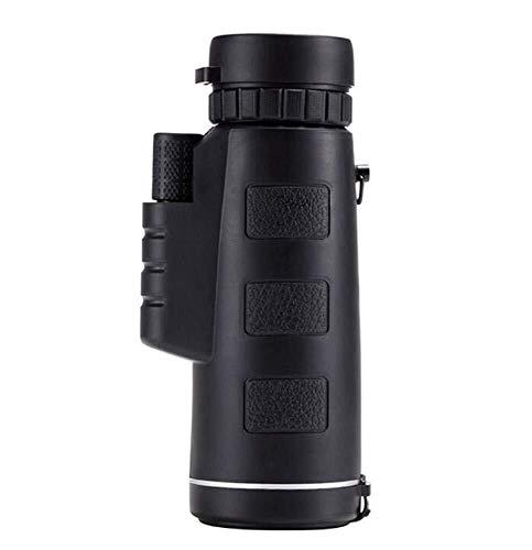 DKEE Binoculars Teleskop, Einrohr-Handyteleskop HD Wasserdicht, Schwarz