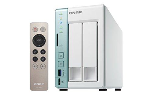 QNAP 251a 4G/Red 2TB dispositivo NAS 2Bay da TB con 4GB di RAM