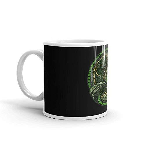 Lsjuee por el diseño de Dread Wolf39; s. Las tazas de 11 onzas son el regalo perfecto para todos. Taza de cerámica fina de 11 onzas con esmalte impeca