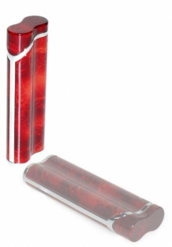 Sonderposten Lotus Feuerzeug 3 braun marmoriert inkl. Lifestyle-Ambiente Tastingbogen