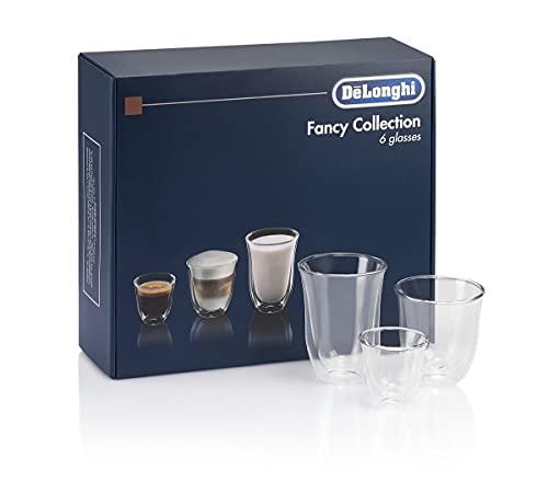 De'Longhi DeLonghi Fancy Box 6er Set Thermo Gläser