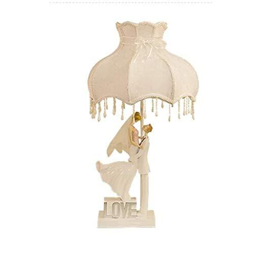 WZHZJ Lámpara de Mesa Retro for Hotel Dormitorio Mesita de luz de la lámpara de la Sala de Tabla del Escritorio de la lámpara Retro