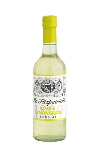 Mr Fitzpatrick's Lime & Lemongrass Sirup