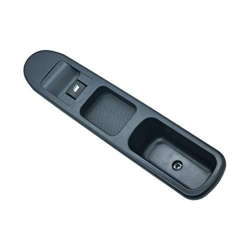ZEALfix Interruptor Mando Elevalunas, Botonera de Ventana para Peuge0t 207 2007-2015 6490.HQ 6554.HJ 6 Pins