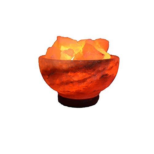 Lámpara de sal del himalaya Centro de Fuego 3 kgs aprox