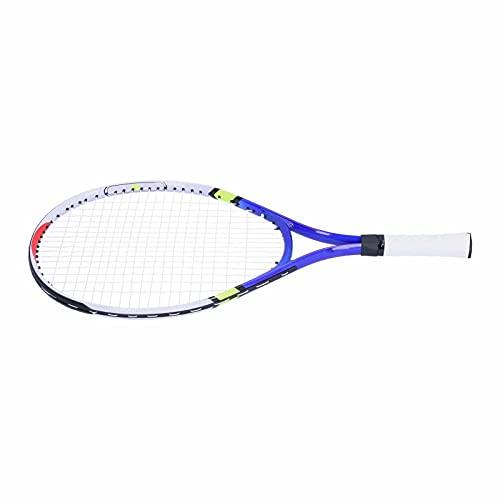 FOLOSAFENAR Raqueta de Tenis para niños, Marco de aleación de Aluminio, Raquetas de Tenis para niños, Raqueta de Tenis para niños, el Mejor Kit de Inicio, con Cubierta para Raqueta d