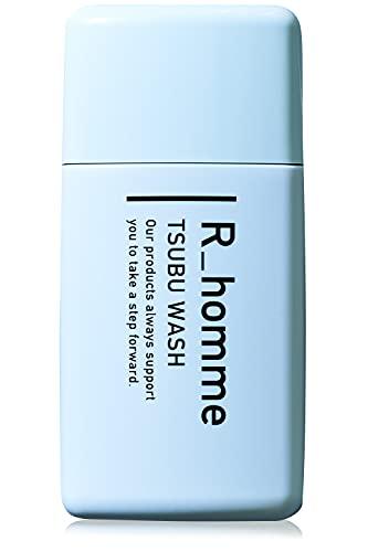 R-homme (アールオム)ツブウォッシュ 酵素洗顔 約60回分 メンズ洗顔料 【毛穴黒ずみケア 】 炭 クレイ 配...