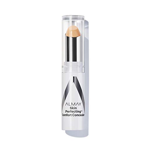 Almay Skin Perfecting Comfort Concealer, Hypoallergenic, Cruelty Free, Fragrance Free, Dermatologist Tested, Medium