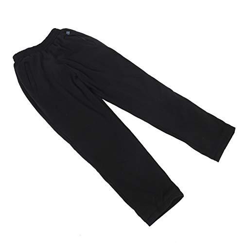 Pantalones de calefacción USB, seguros antideslizantes elásticos USB térmicos, para el hogar al aire libre (M)
