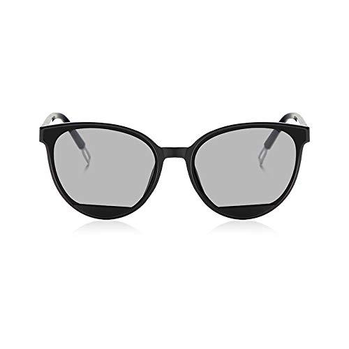 Sunglasses Gafas De Sol con Forma De Ojo De Gato para Mujer, Gafas De Metal Retro, Clásicas para Mujer Uv400 C1