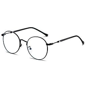 FREESE 【超軽量13g】 伊達メガネ ブルーライトカット PC眼鏡 UVカット 形状記憶 メタルフレーム メンズ 【福岡発のアイウェアブランド】(ブラック)