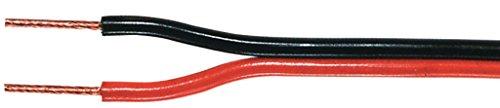 Various luidsprekerkabel zwart/rood 2 x 1,00mm2