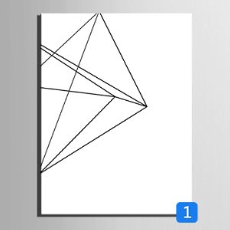 RUNDESHEBEI Y&M Einzelne geometrische Linien dekorative Malerei, Rahmen Malerei, dekorative dekorative dekorative Malerei das Wohnzimmer Restaurant, 50  70 B071JLXVHZ | Elegant  826490