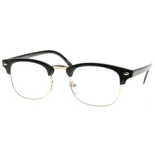 Goson Vintage Nerd Fashion Clear Eyeglasses