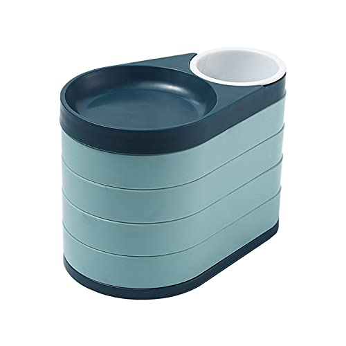 Chuanhao Rotatable Jewelry - Caja organizadora portátil para joyas