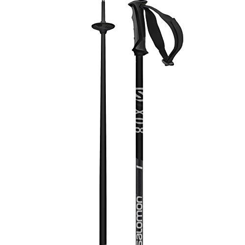 Salomon X 08, Alpine Ski Poles Unisex-Adult, Grey/Black, 120