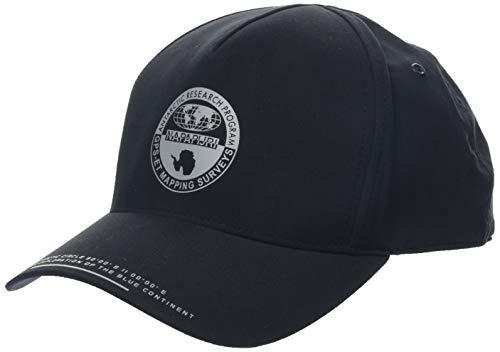 Napapijri Herren Fitch Baskenmütze, Schwarz (Black 041), One Size (Herstellergröße: D)