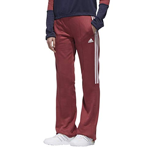 adidas womens New Authentic Wide Leg Pants Legacy Red Medium