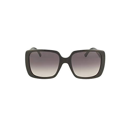 Gucci GG0632S BLACK/GREY SHADED 56/20/145 Damen Sonnenbrillen