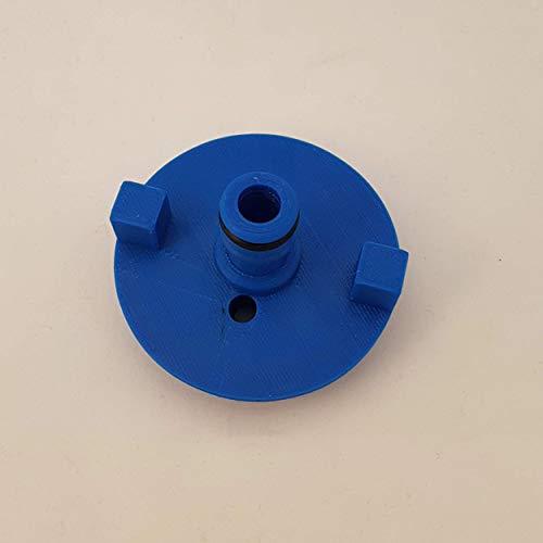Bouchon de réservoir d'eau avec connecteur de tuyau pour camping-car -Pour Fiamma -Bleu
