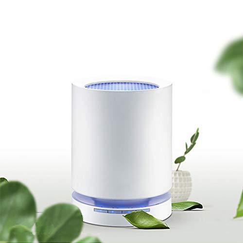 SXFYZCY Purificador de Aire hogar Dormitorio Oficina 360 ° rodear el Viento Inteligente eliminación de formaldehído pm2.5 eliminación de formaldehído purificador de Polvo purificador de Aire, Blanco