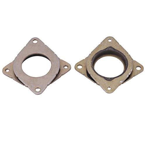 without EG-BIANSU, 5 Pcs Vibration Damper Motor NEMA 17 Motor Shock Absorber For CNC 3D Printer Stepper Motor Vibration Damper