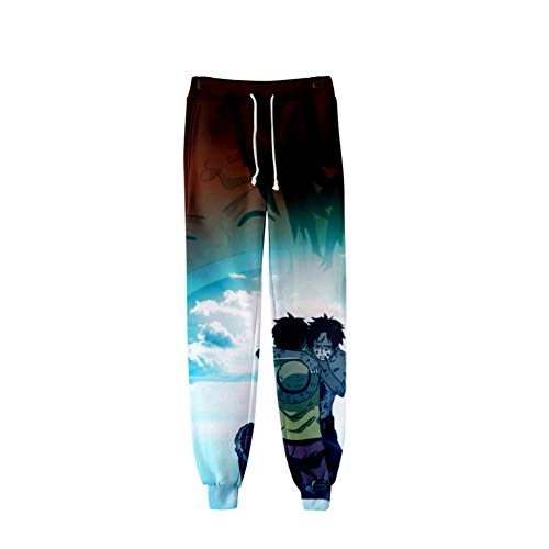 Zcbm Joggers Pants Casual Sweatpants 3D Print ONE PIECE Monkey D. Luffy Portgas·D· Ace Graphic Sport Sweatpants Drawstring Jogging Trousers for Teens,M