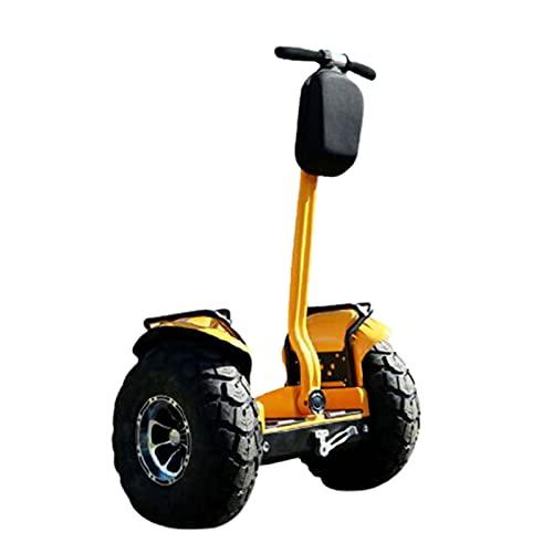 Patinetes Acrobacias Electricos Adultos Ninas Adolescentes Scooter De Equilibrio Sin Cadena Somatosensorial De 100 V Todoterreno 240 V Inteligente 1000 W,Yellow,48V