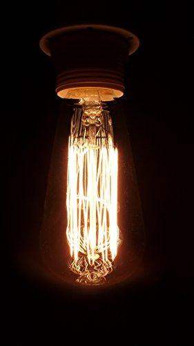 Ampoule E27 60W filament carbone vintage
