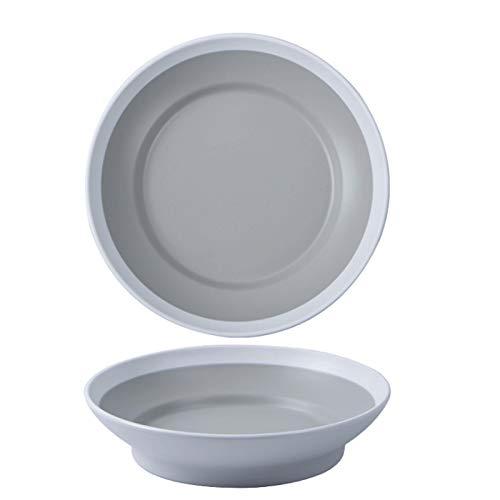 Placa de dos colores Placa de porcelana Placa de desayuno Vajilla Tablero de cocina especial (Color : 1)