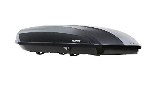 YAKIMA - ShowCase, Aerodynamic Rooftop Cargo Space for Larger Vehicles, Wagons & SUVs, 20, Anthracite