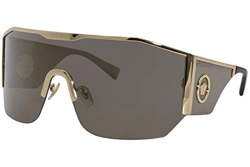 Occhiali da Sole Versace MEDUSA HALO VE 2220 Gold/Grey Gold 41/14/125 uomo