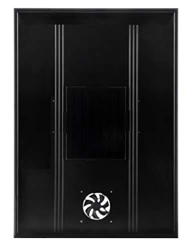Nakoair Solar Lufterhitzer Kollektor OS20 (Schwarz) 520W Klimaanlage Abluftventilator Ventilator Trockner Raumheizung Luftentfeuchter Wärmepumpe frisch Belüftung