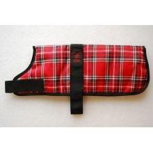 """Outhwaite gewatteerde Tartan hond jas, Outhwaite gewatteerde rode Tartan hond jas, 22"""" (56cm), Rode Schotse ruit"""