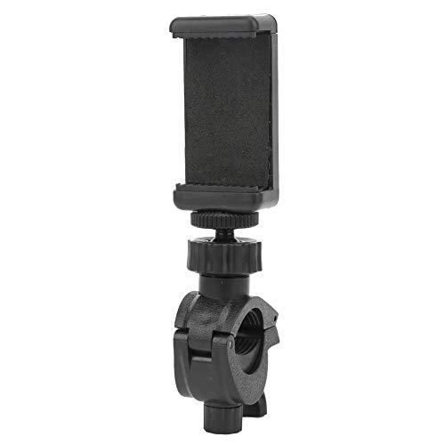 Haowecib Clip Plano para teléfono móvil, Clip Ajustable para teléfono móvil Resistente con Abrazadera Fija Tipo O para camarógrafo para grabación de Video