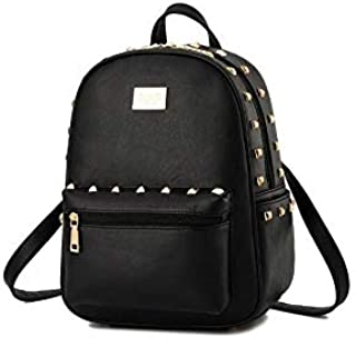 Elegant style Korean version rivet bag ladies leisure backpack schoolbag travel bag for Girls WB78