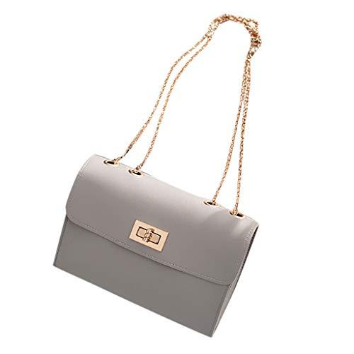Allence Kleine Damentasche Umhängetasche Schultertasche Handtasche Elegant Retro Vintage Tasche Kette Band