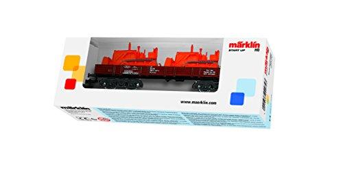 Märklin - 4474 - Modélisme Ferroviaire - Wagon à Bords Bas - Chargé DB