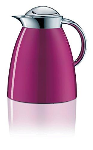 Alfi 3551.242.100 Isolierkanne Gusto Tea, 1 L, Metall, 16,6 x 20 x 22 cm, cool cassis