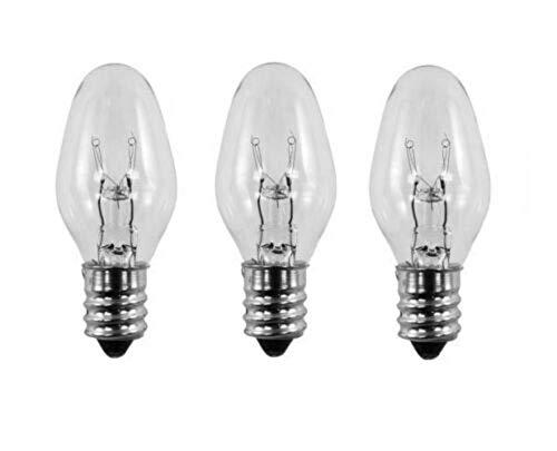 Review 3 Pack Light Bulbs 15W for Plug-in Warmer Wax Diffuser - 15 Watt 120 Volts | EL Hanes Enterpr...