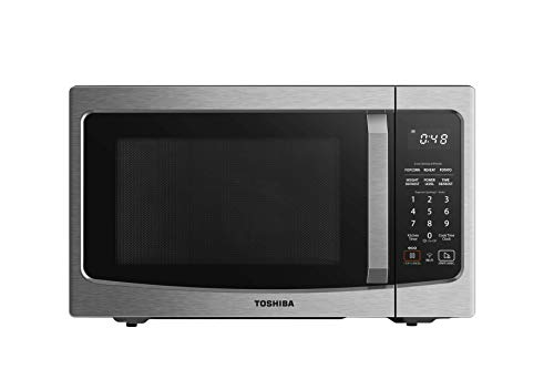 Toshiba ML-EM34P(SS) Smart Countertop Microwave Oven Works with Alexa, Humidity...