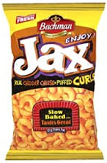 Jax Real Cheddar Cheese Puffed Cheese Curls, 9.75 oz