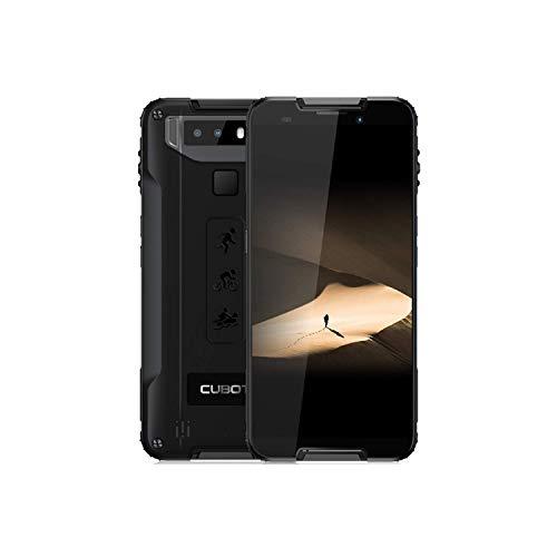 CUBOT Quest, Smartphone Libre 4G 64GB Dual SIM (Android 9.0), Negro