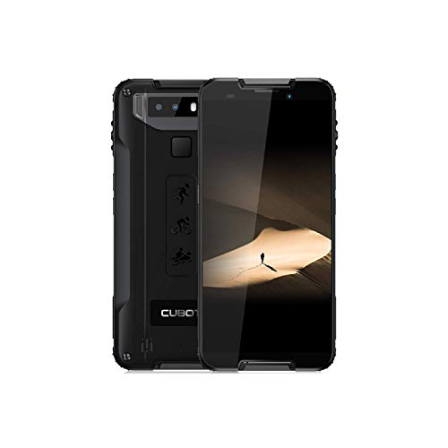 Cubot Quest 4G 64GB Dual-SIM Black Smartphone Android 9.0