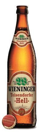 Wieninger Teisendorfer Hell 18 Flaschen x0,5l