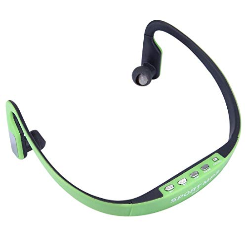 Elevea Stylish Wireless Sports MP3 Player with Micro SD Card Support