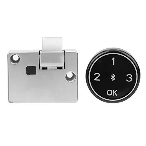 Cerradura de armario con contraseña, contraseña digital sin llave Cerradura de puerta de entrada Seguridad del hogar Antirrobo Tiempo de espera prolongado Recargable con puerto USB